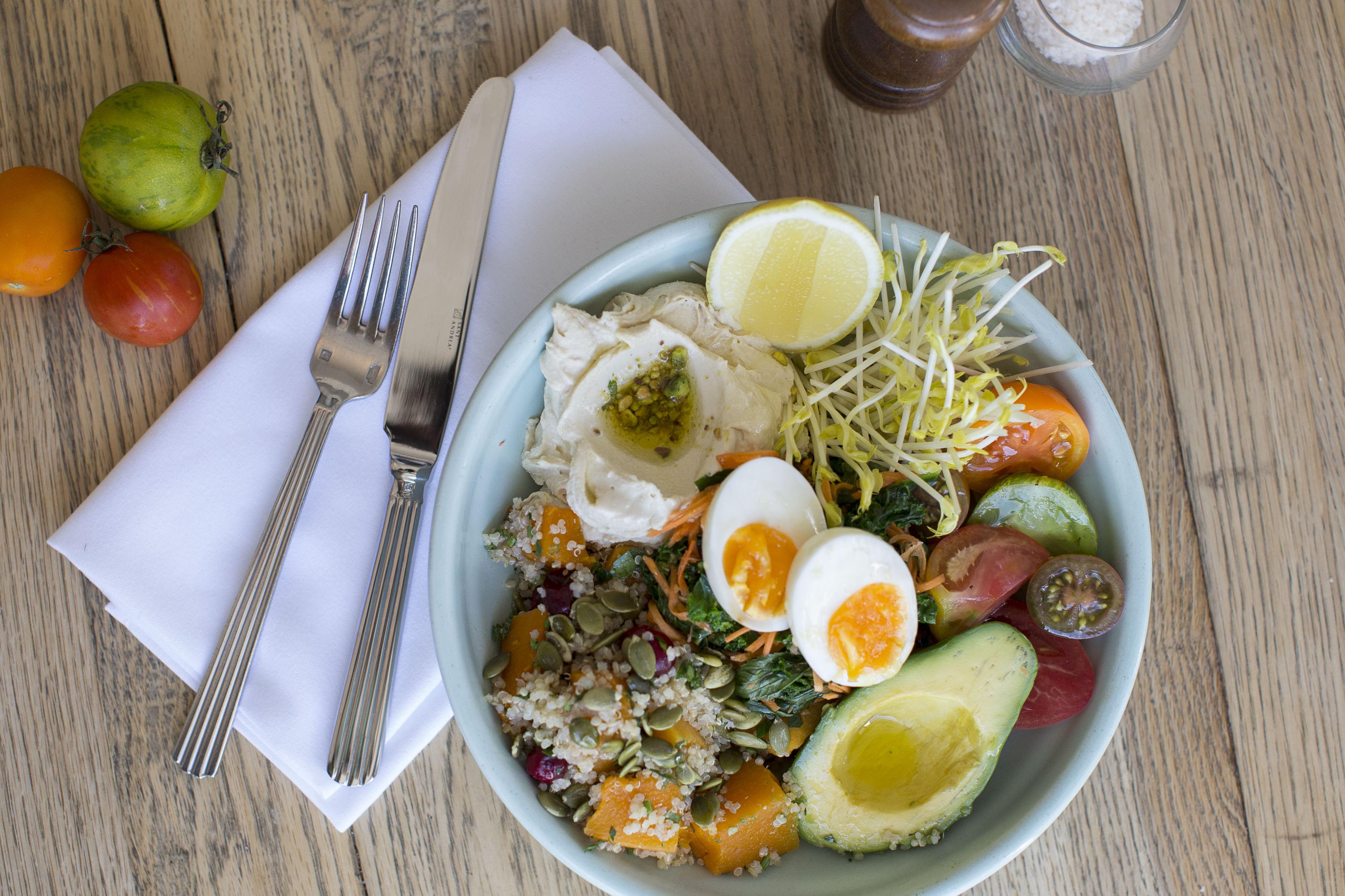 healthy buddah bowl