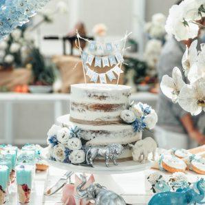Nikki Phillips Baby Shower Cake