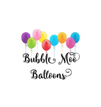 Bubble Moo Balloons Logo