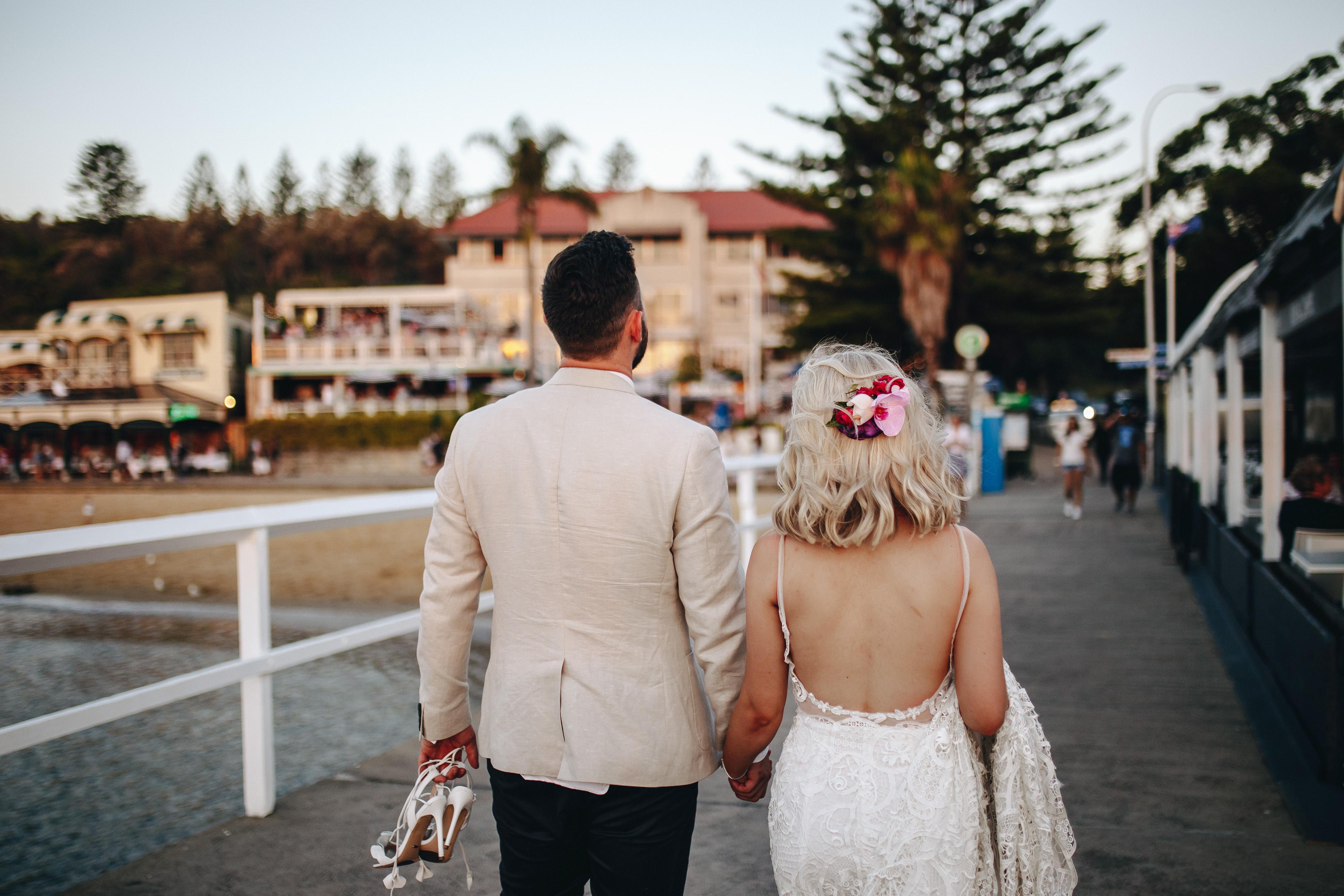 Brooke & Ben Wedding Wharf Photo