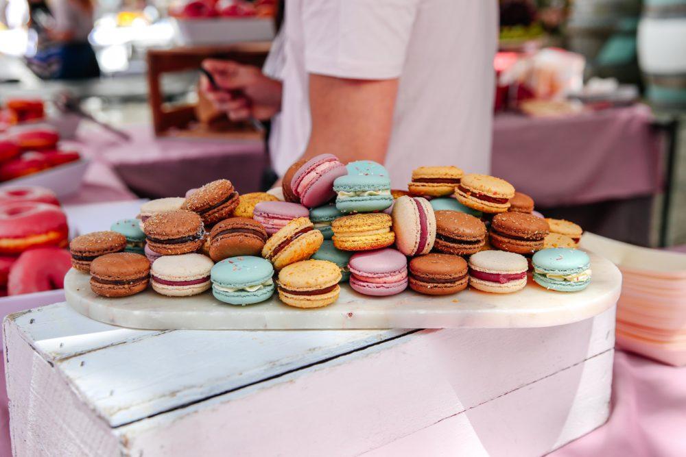 Rose St Fest Macarons