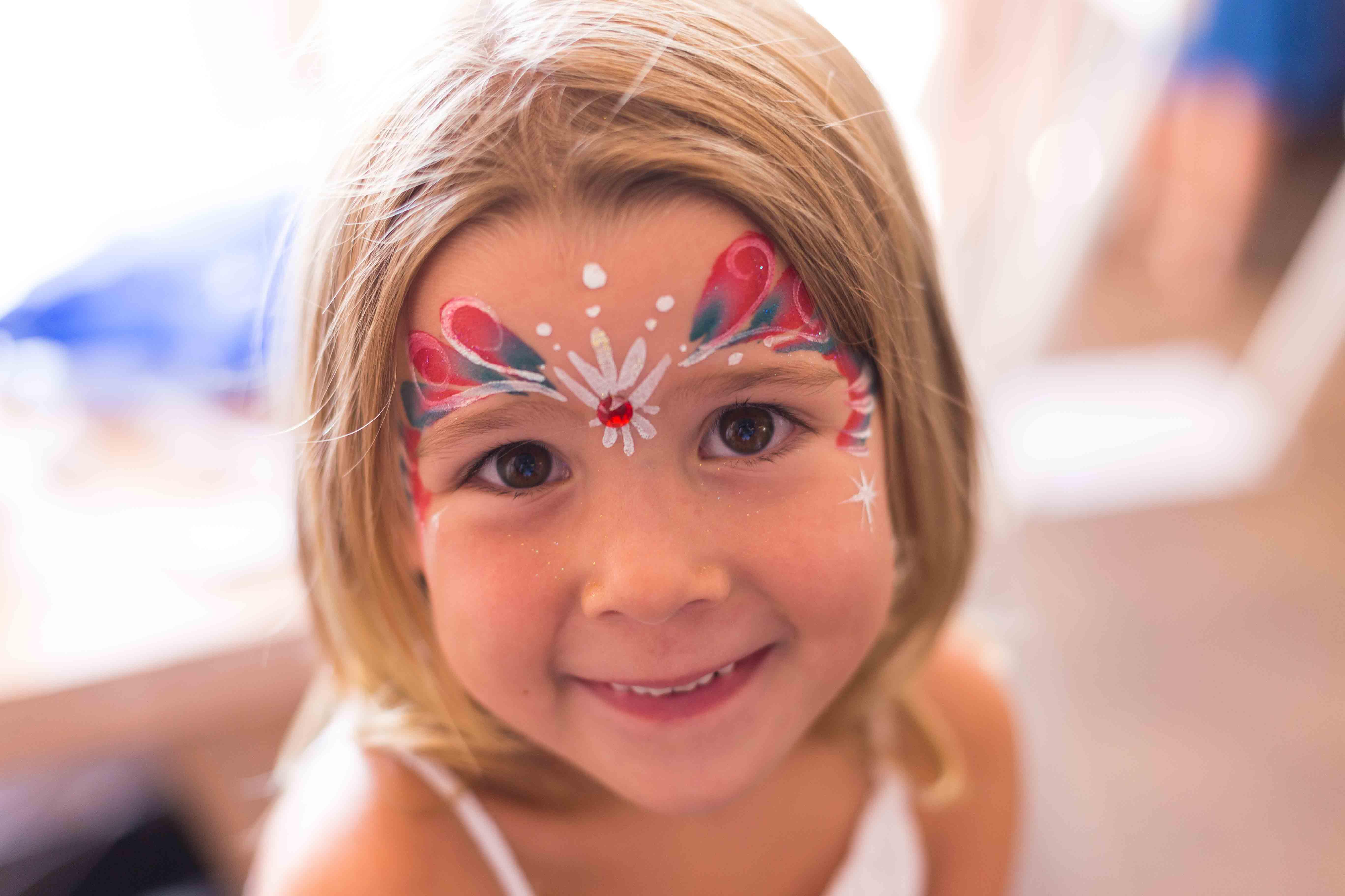 Girl at Magic Show School Holiday Activity