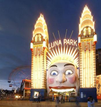 Luna Park Sydney Entrance