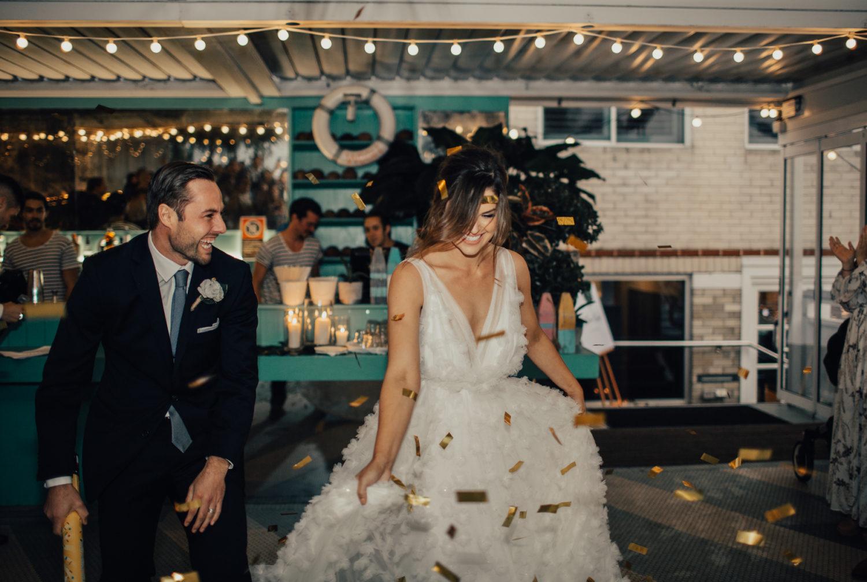 Top Deck Wedding couple Dancing