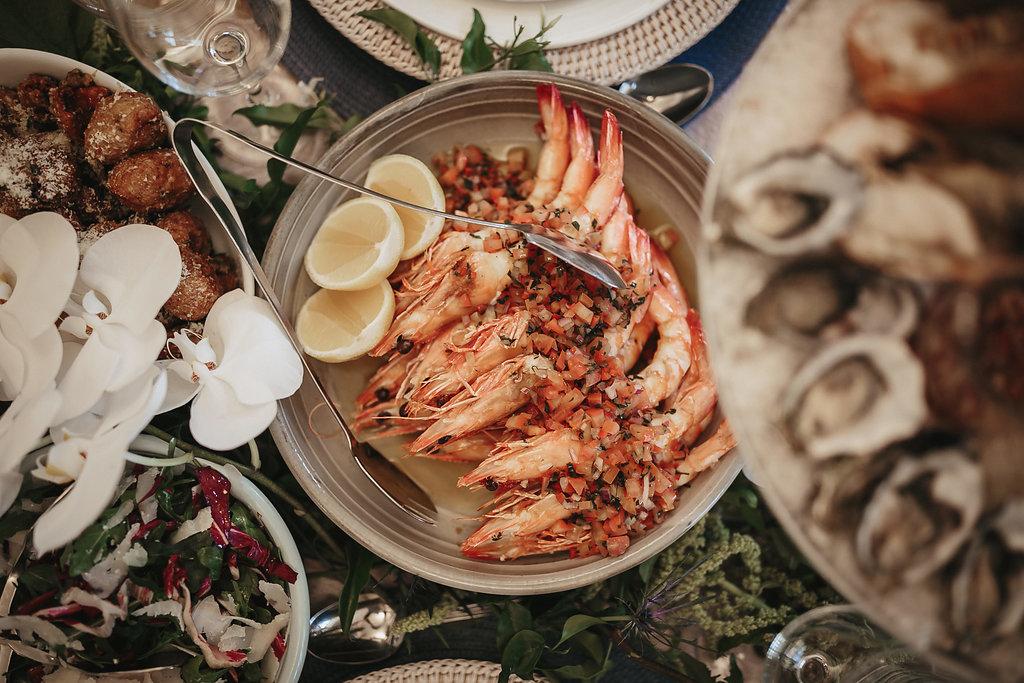 Grant Feast Prawns