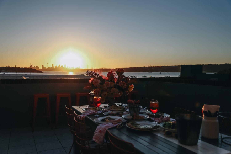 Sunset Over Watsons Bay
