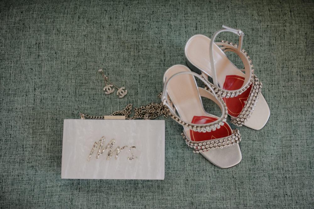 Gemmas wedding day shoes