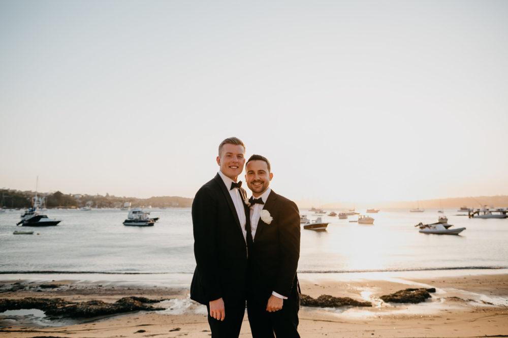 Jason and Matt's Seaside Wedding