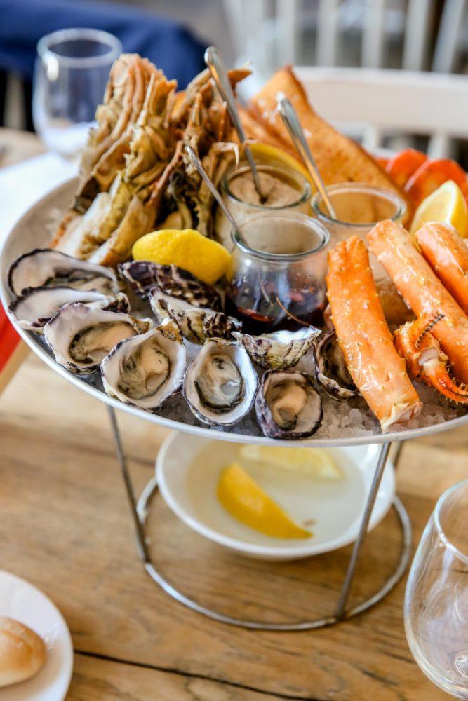 seafood platter at watsons bay